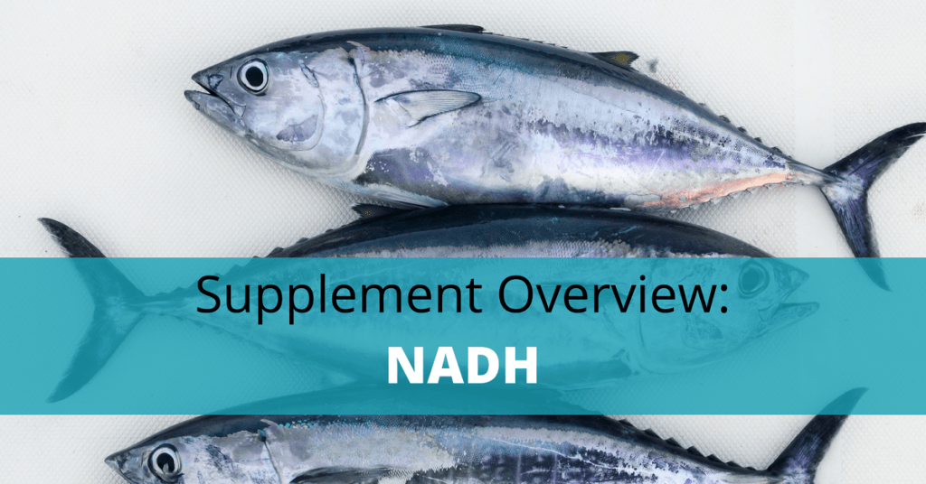 NADH Fish with text overlay